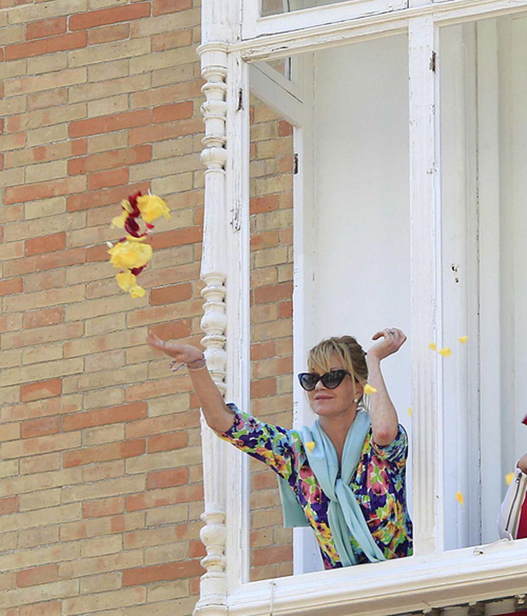 El 'paso a paso' de Melanie Griffith por nuestra Semana Santa