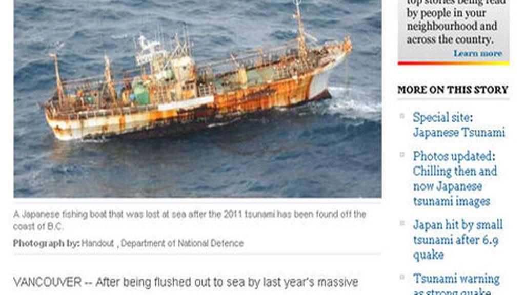 Barco fantasma japonés