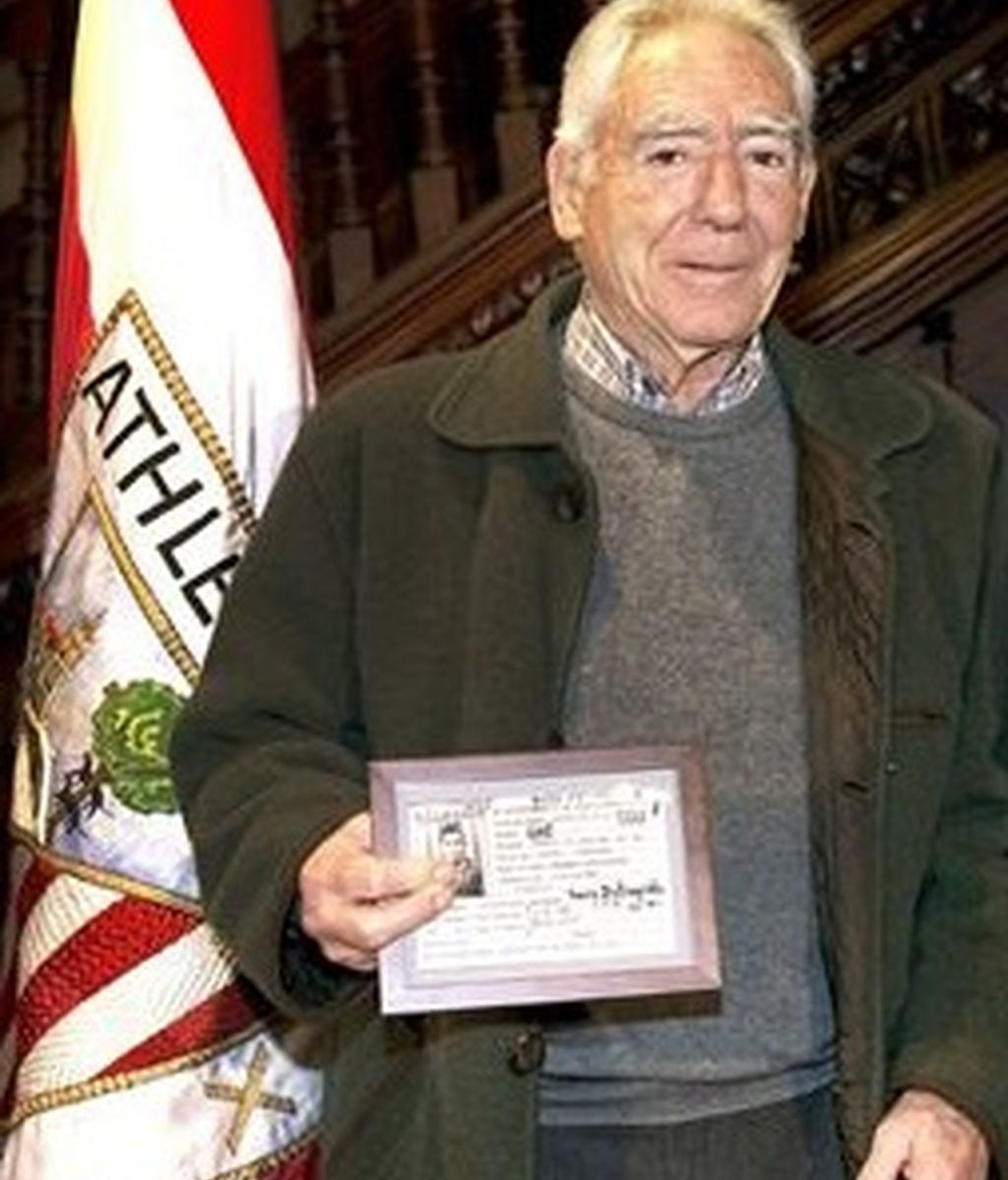 Fallece Artetxe, exdelantero del Athletic Club