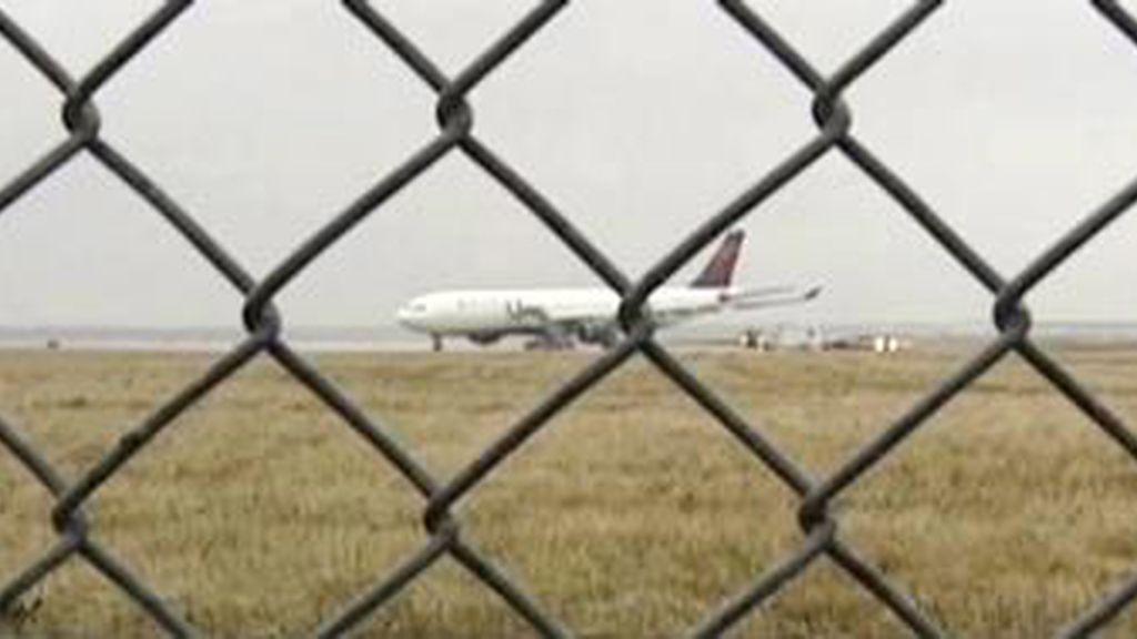 El avión en el que se iba a atentar