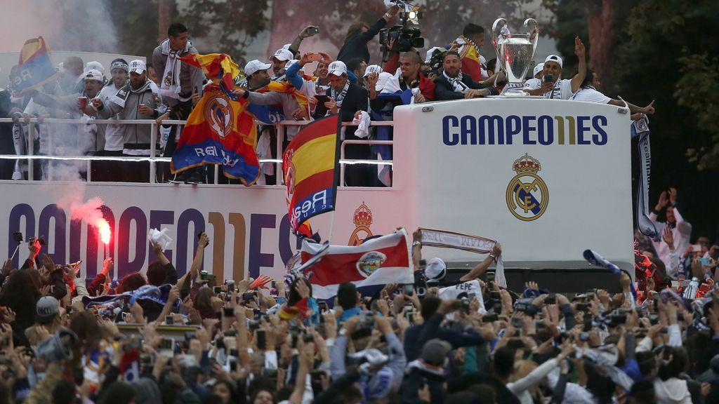 La celebración terminará en el Bernabéu