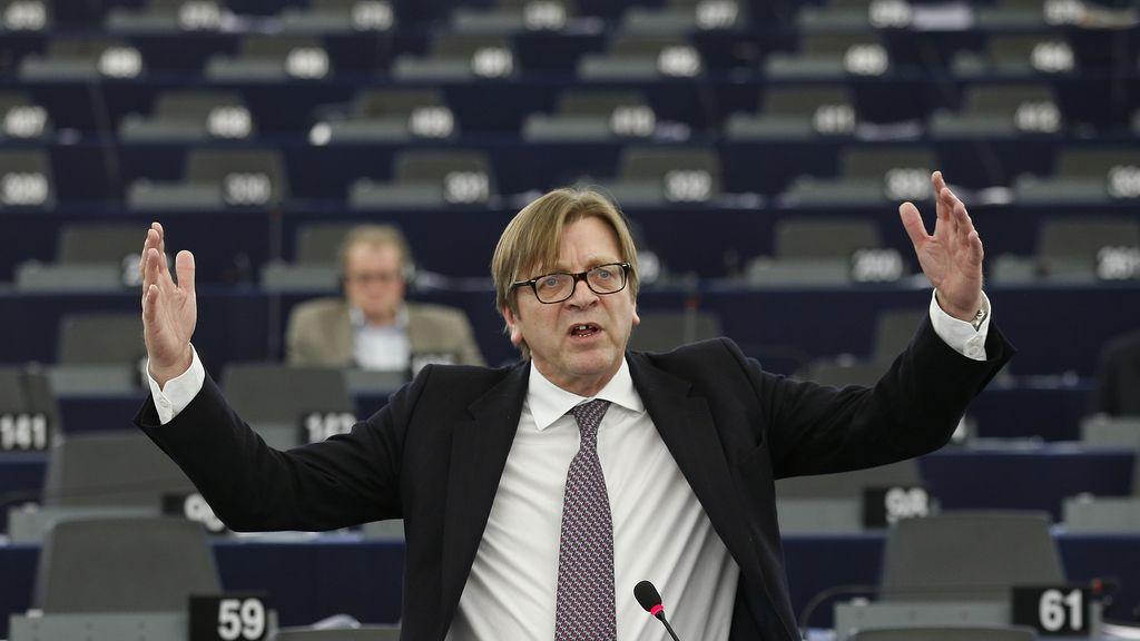 Guy Verhofstadt, candidato a presidir la Comisión Europea