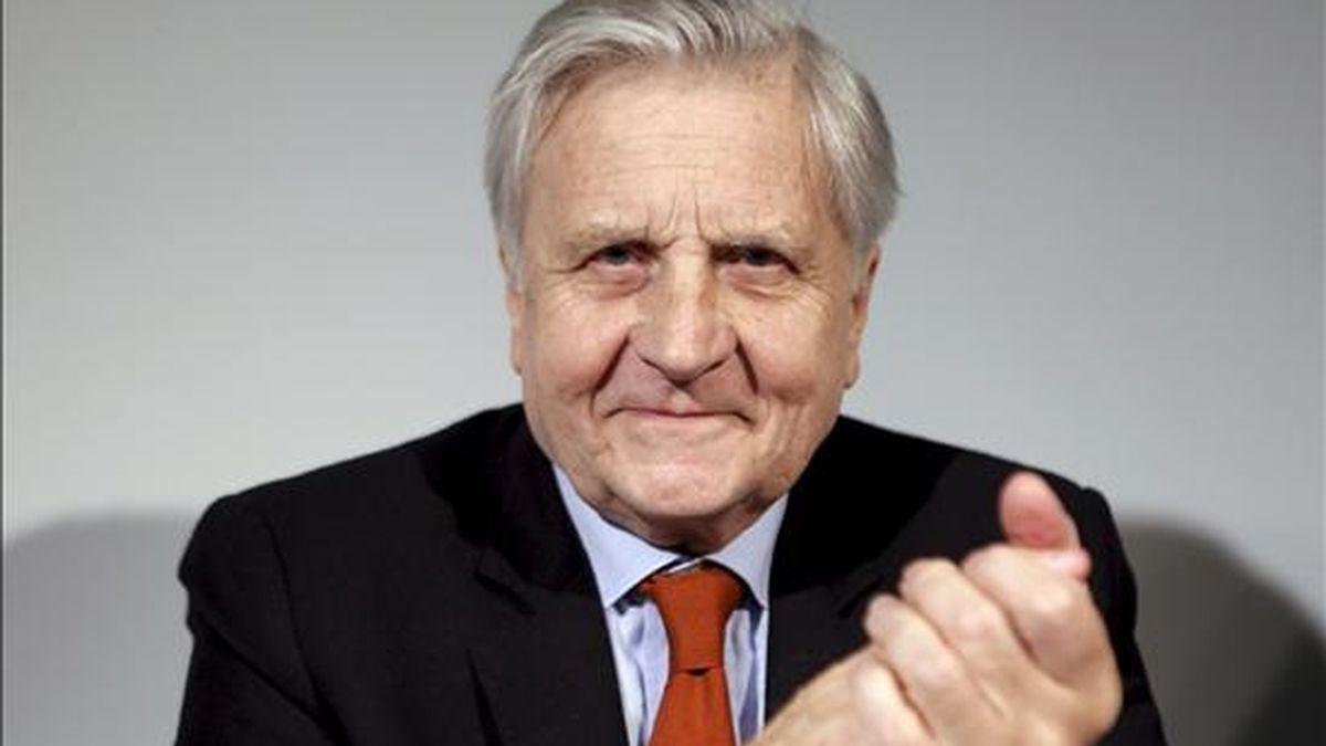 El presidente del Banco Central Europeo, Jean-Claude Trichet. EFE/Archivo