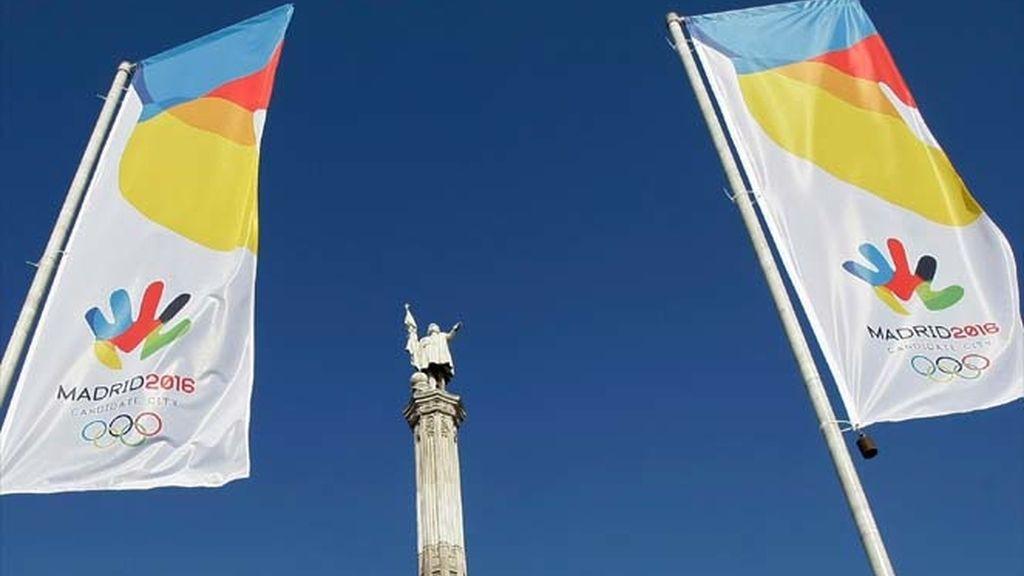 Madrid exhibe candidatura