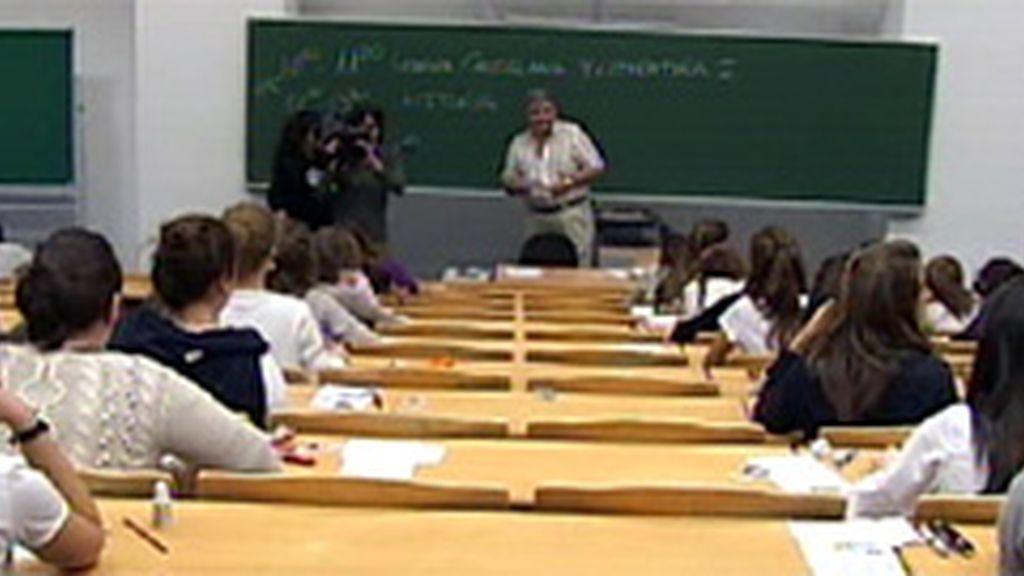Mañana comienzan en Madrid las pruebas de Selectividad