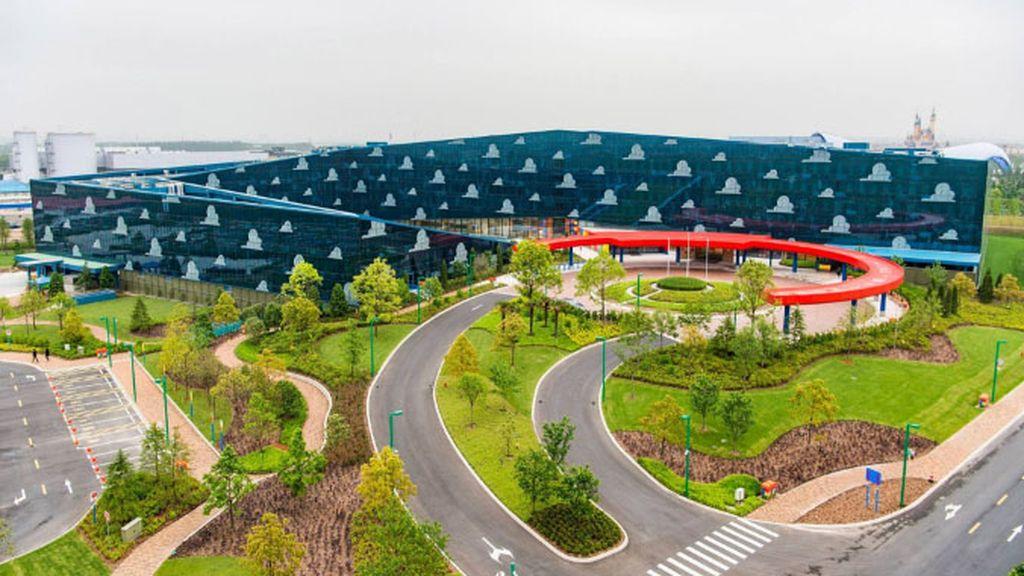 Es el resort de Toy Story en Disneyland Shanghai