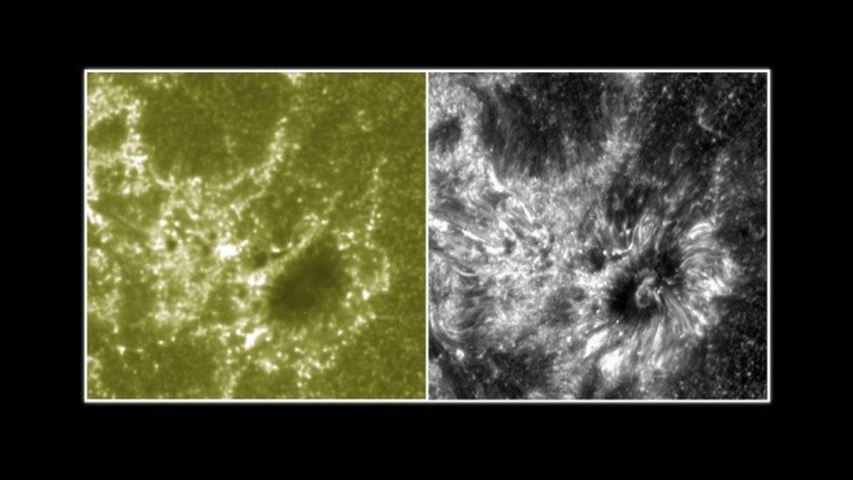 La NASA muestra imágenes de la atmósfera solar