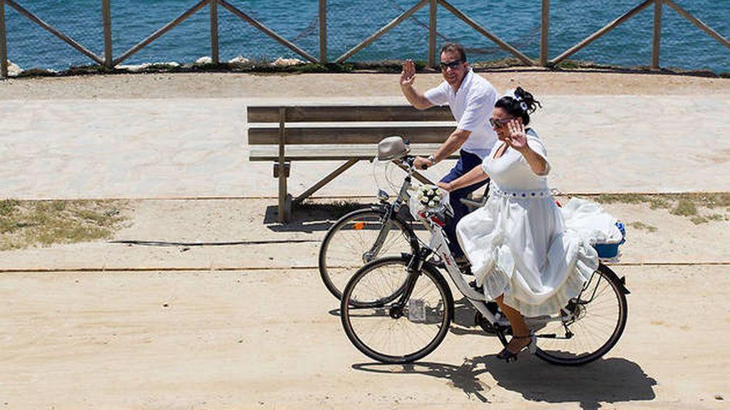 boda bicicleta