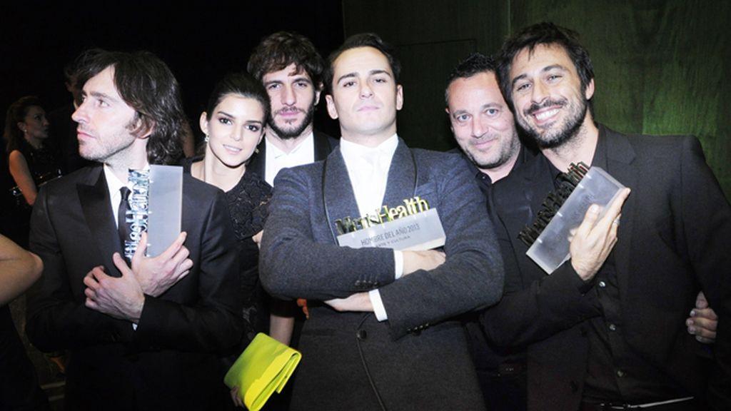 Daniel Sánchez Arévalo, Clara Lago, Quim Gutiérrez, Asier Etxeandía, Pepón Nieto y Hugo Silva