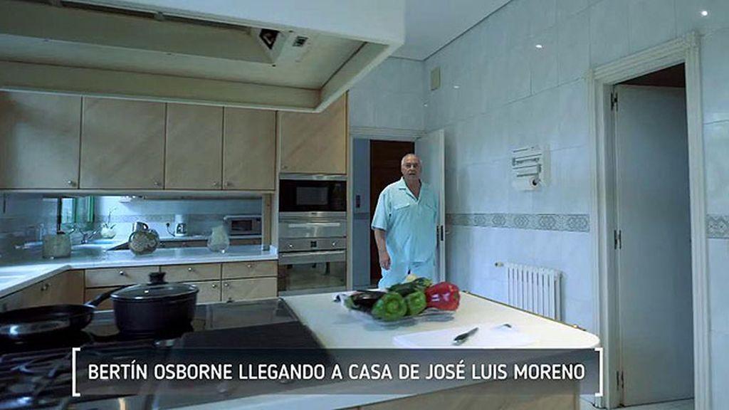 Moreno disfruta de una gran cocina en tonos claros