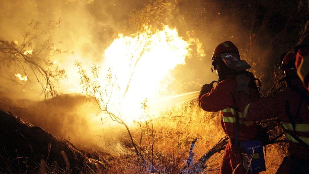 Incendio en Ávila