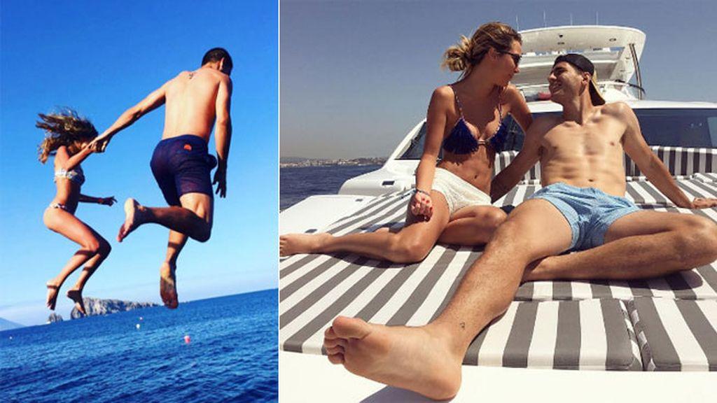 Comparten sus momentazos de pareja con el mundo a través de Instagram