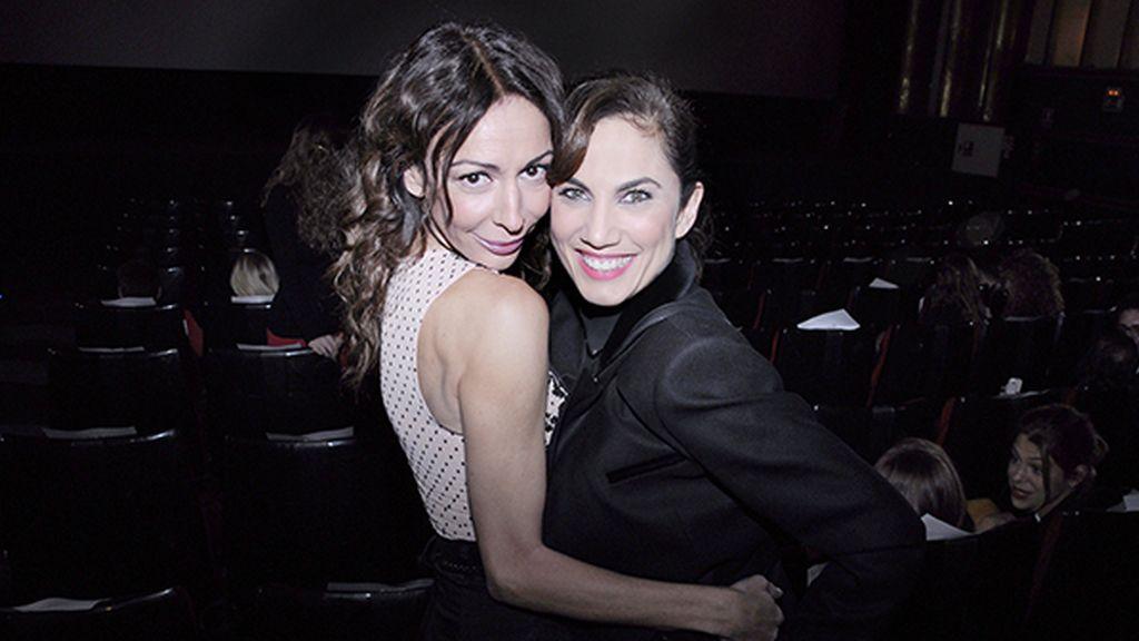 Elisa Matilla y Toni Acosta, amigas que se reencuentran en el cine