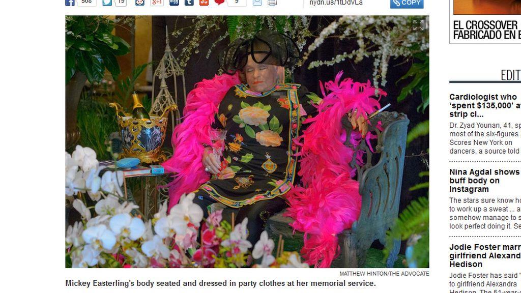 Un funeral o una fiesta
