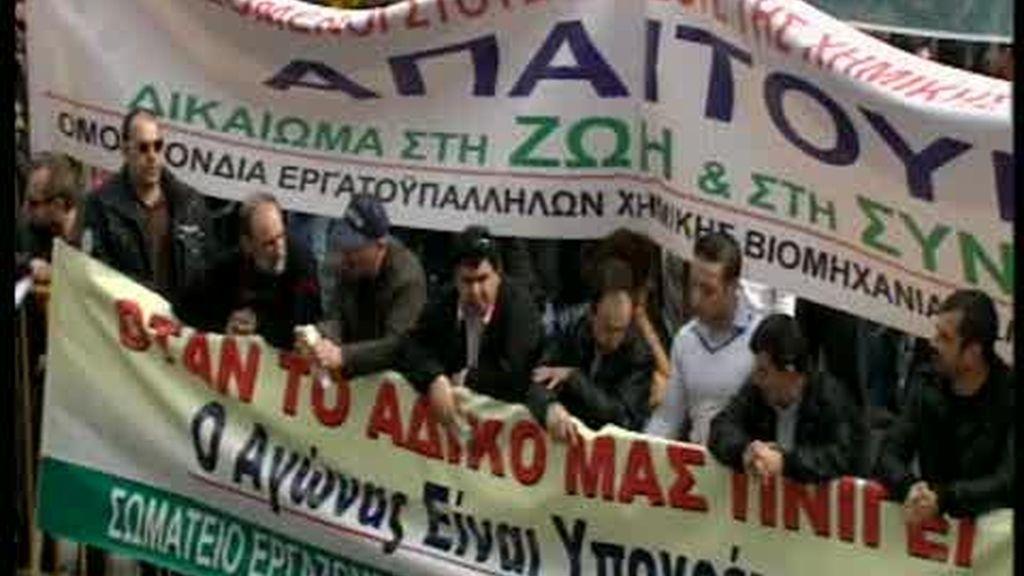 Grecia se paraliza