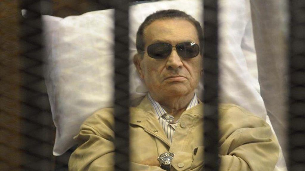 Gran dispositivo policial con motivo del juicio a Mubarak