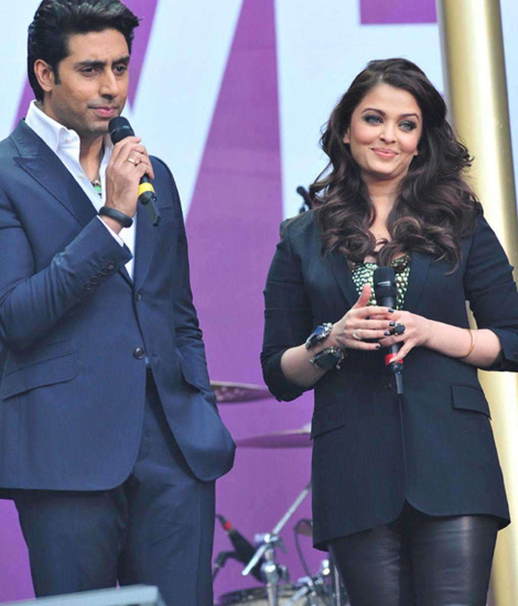 Abhishek Bachchan y Aishwarya Rai Bachchan