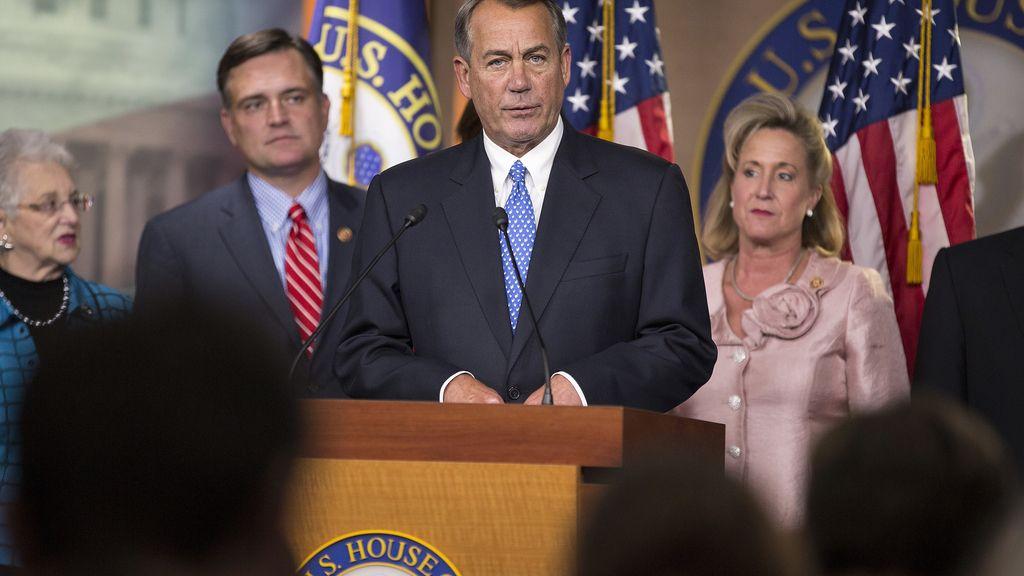 El presidente de la Cámara de Representantes de Estados Unidos, el republicano John Boehner