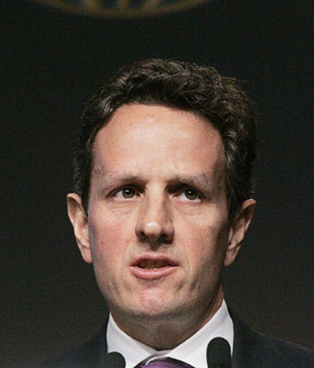 Timothy Geithner, nuevo secretario del Tesoro. Foto: AP.
