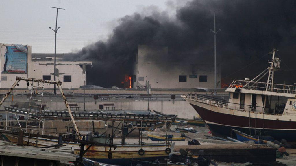Noche sangrienta en Gaza: 32 palestinos muertos en los bombardeos israelíes