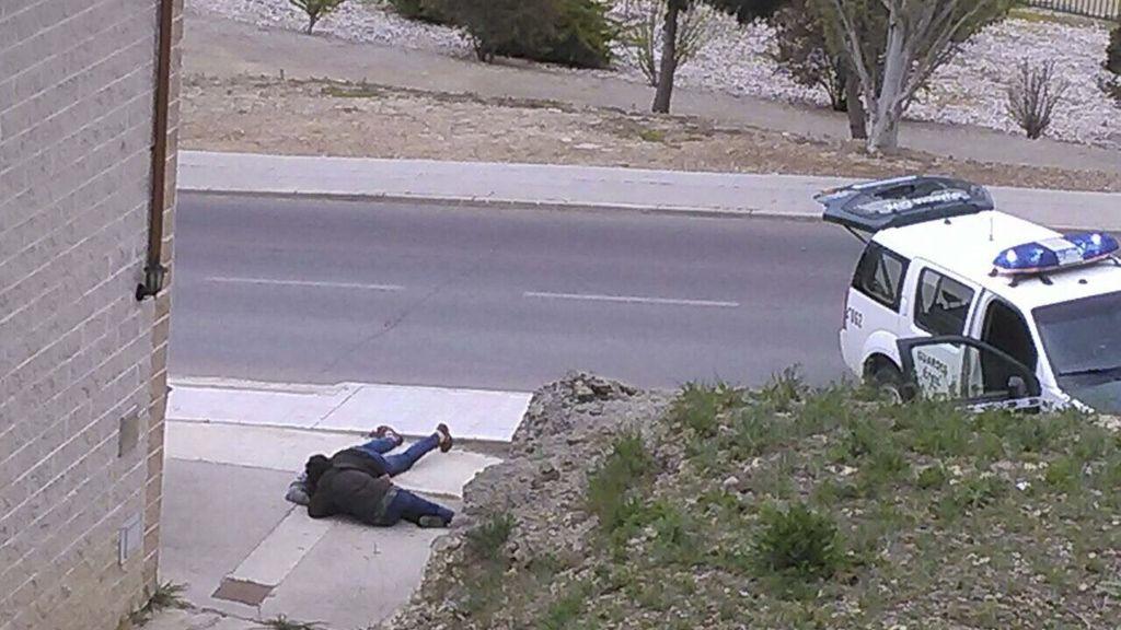 Un hombre dispara contra el novio de una de sus hijas en Ejea de los Caballeros