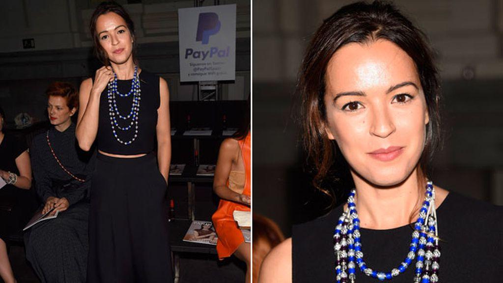Verónica Sánchez, con estilismo de Beatriz Ares y joyas de Pandora