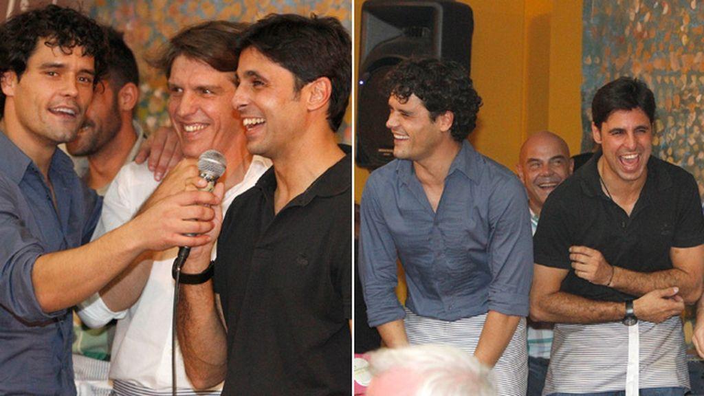 Miguel Abellán animó la fiesta