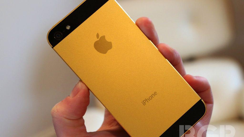 iPhone 5S,oro, dorado, Apple