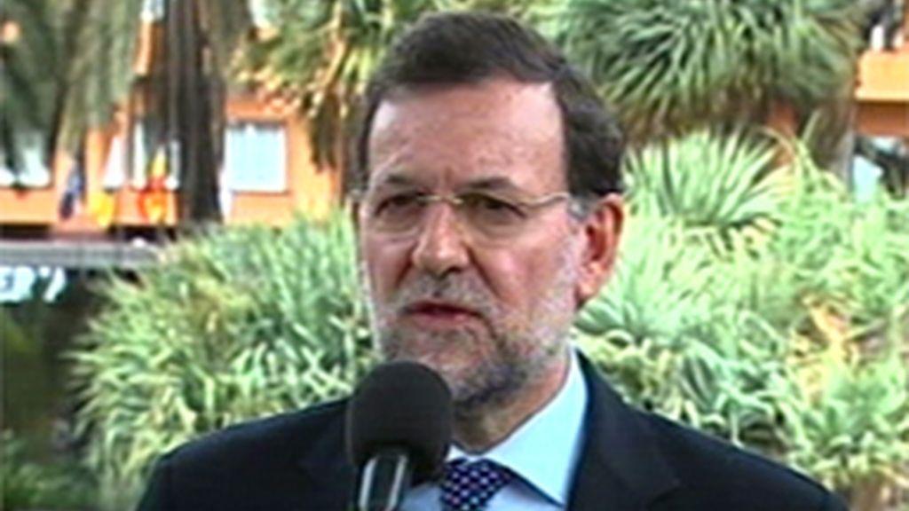 Rajoy critica a Zapatero