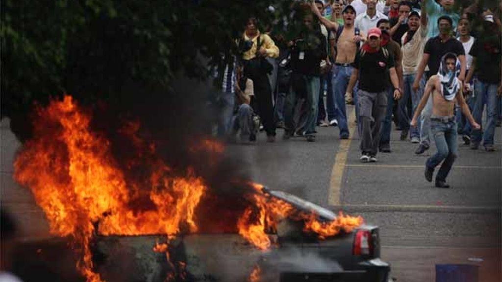 Nuevos enfrentamientos en Honduras