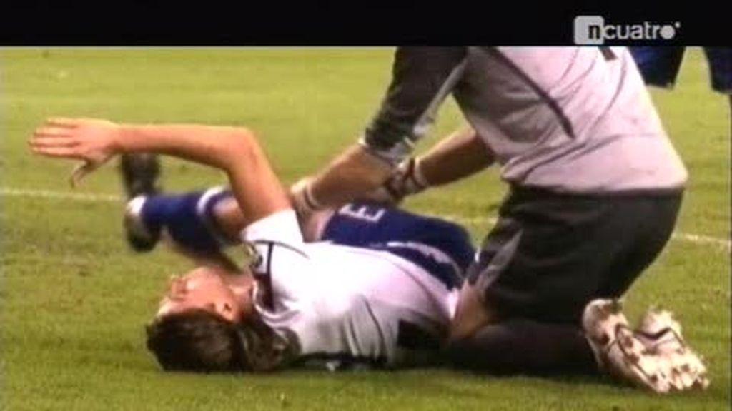 La impresionante lesión de Filipe Luís