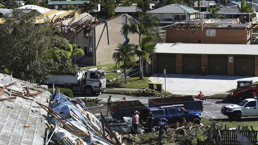 Estado de emergencia en Mooloolaba (Australia)
