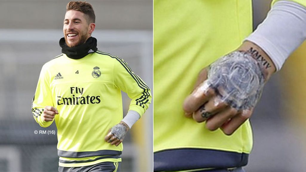 Sergio Ramos, tatuaje, Real Madrid