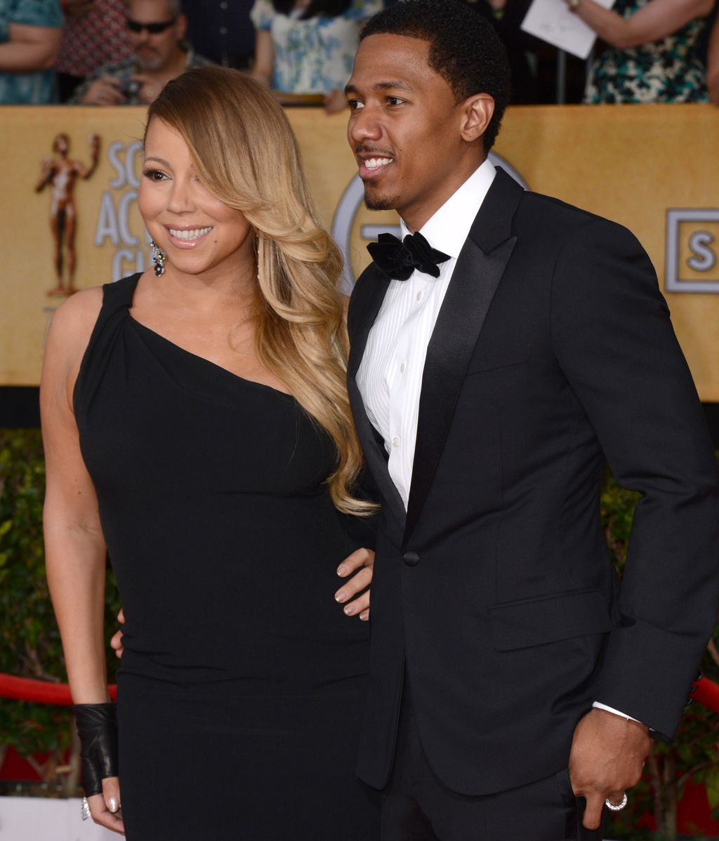Mariah Carey, inseparable de su marido Nick Cannon