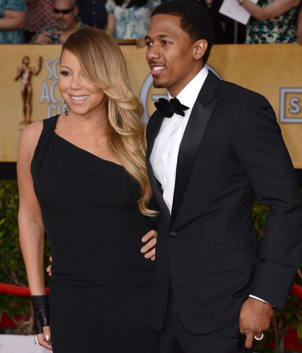 Mariah Carey, inseparable de su marido Nick Cannon