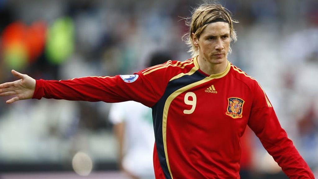 Fernando Torres, ariete de 'La Roja'