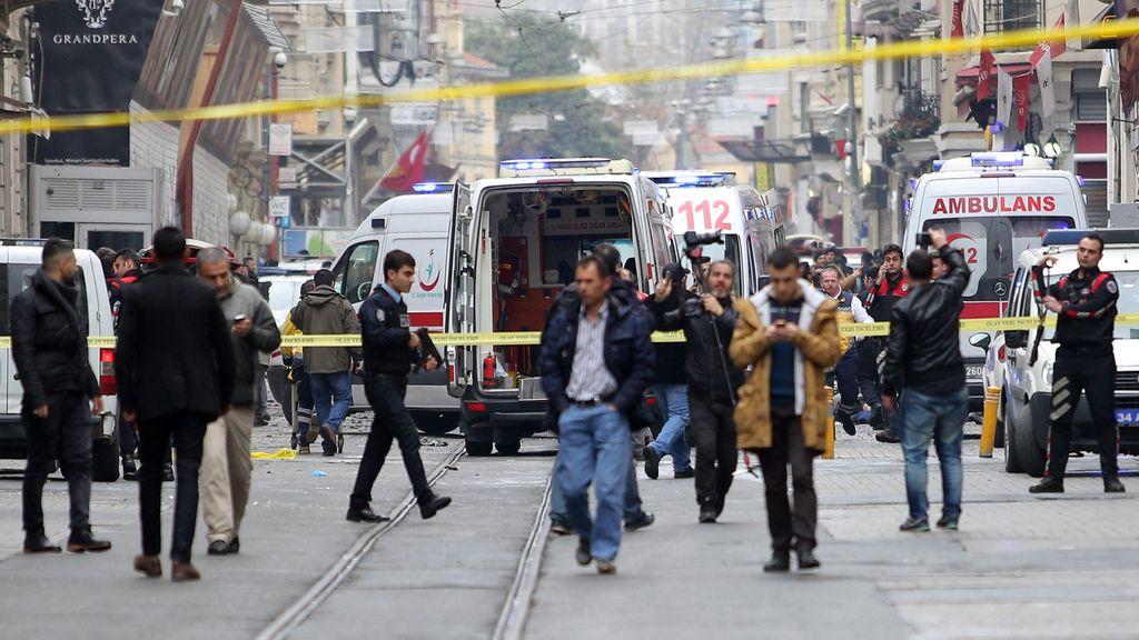 Un atentado suicida en el centro de Estambul