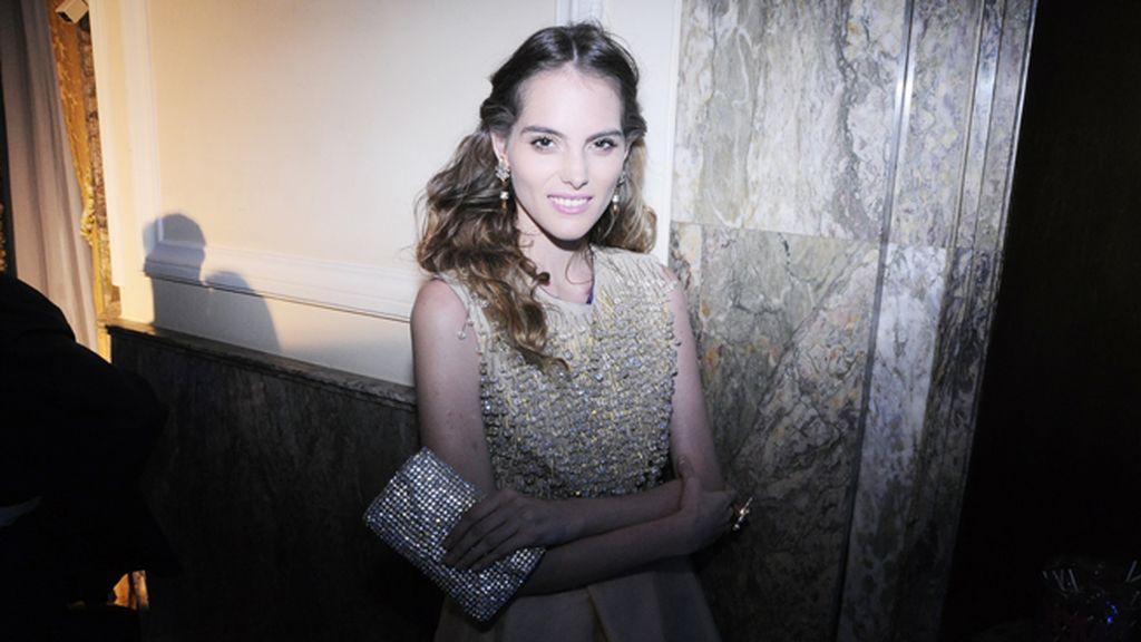 Marina Jamieson con un espectacular vestido de Ako Zazarashvili