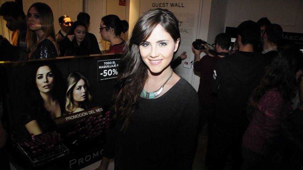 La actriz Lucía Ramos tampoco se quiso perder este fiestón