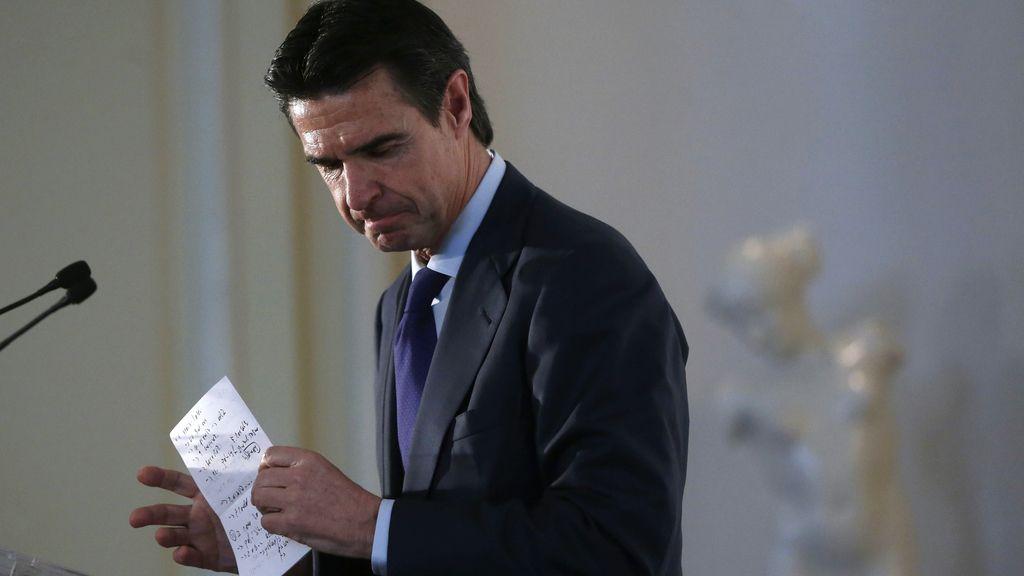 Soria renuncia como ministro de Industria