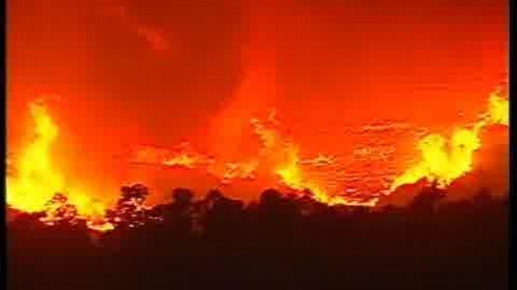 El norte de Portugal en llamas
