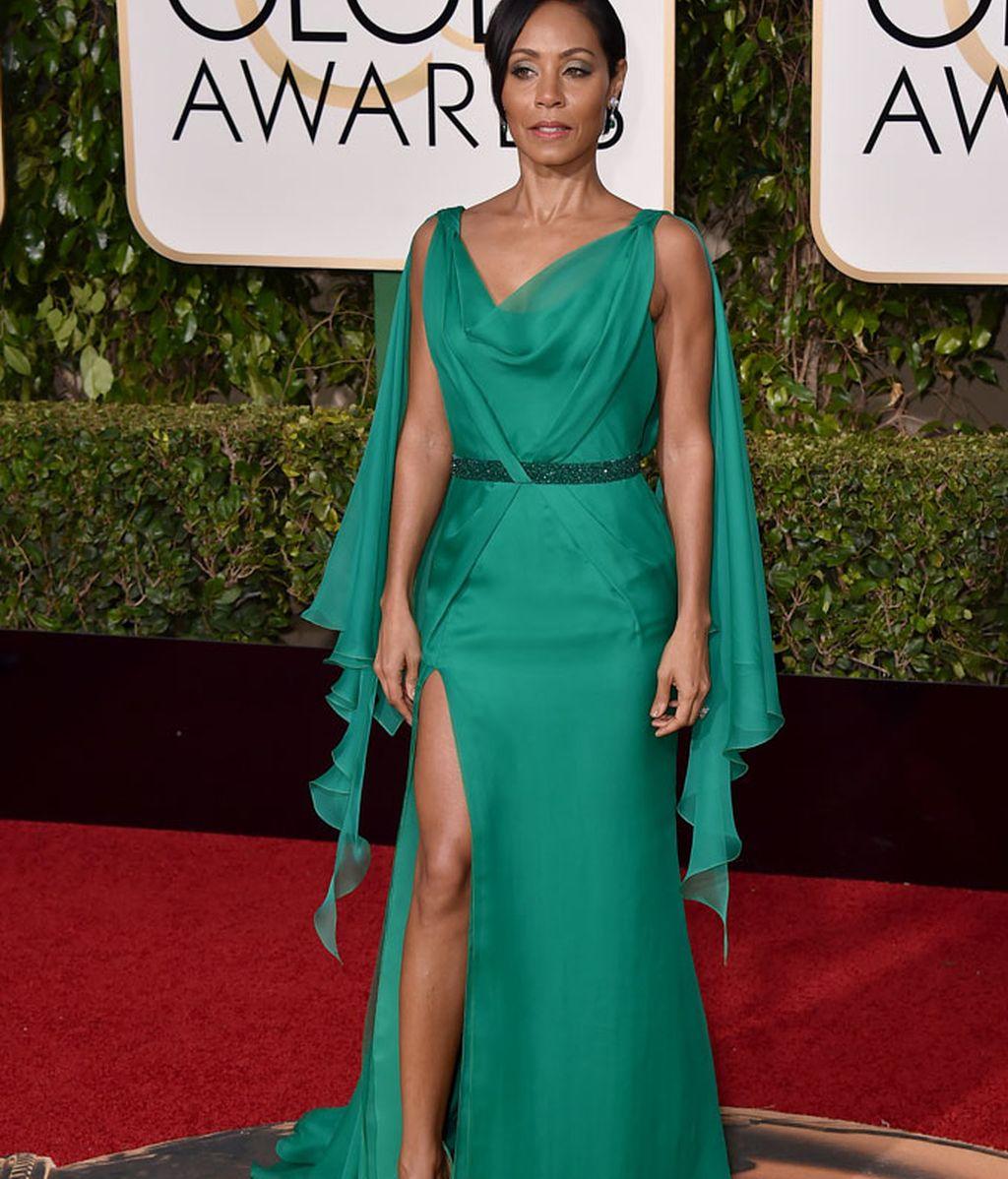 Jada Pinkett Smith vestida de Versace