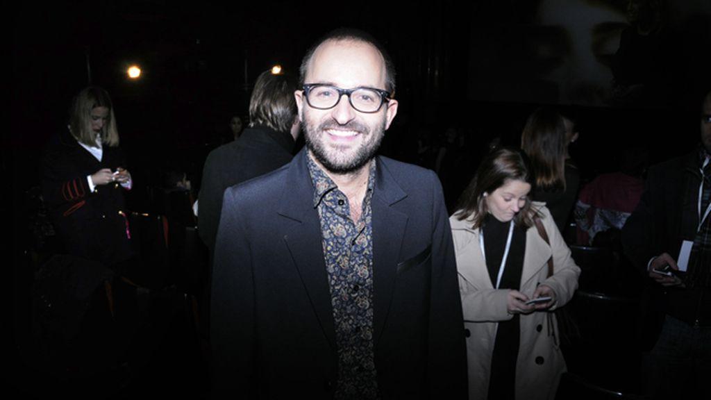 El cineasta Fernando González Molina