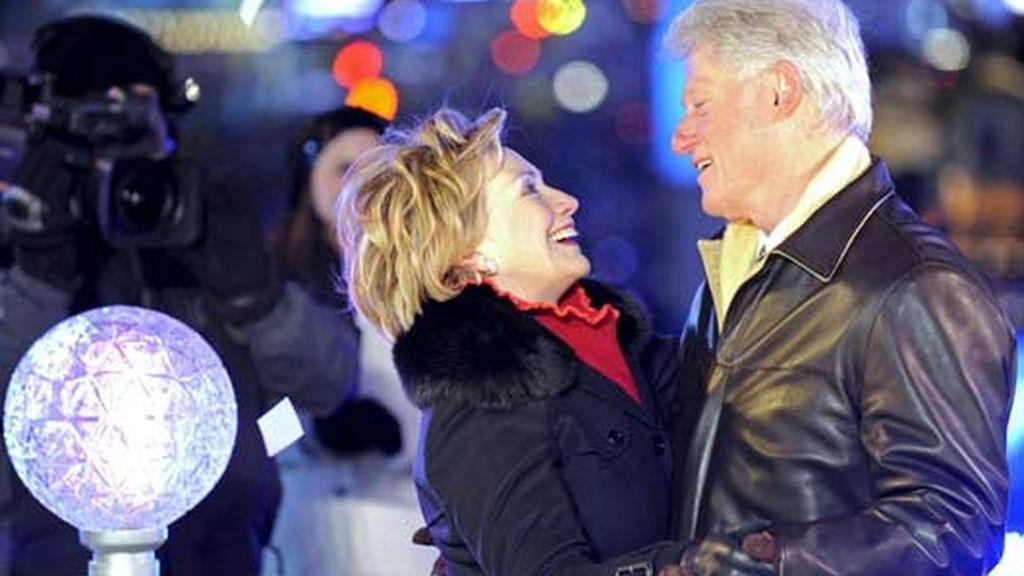 El baile de Año Nuevo de los Clinton