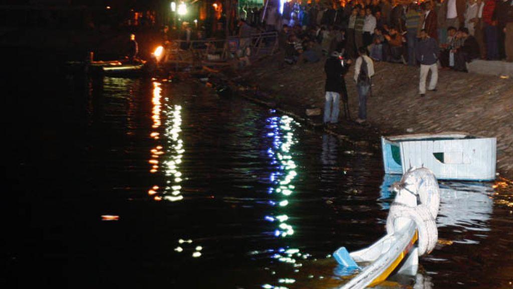 Accidente en el río Nilo