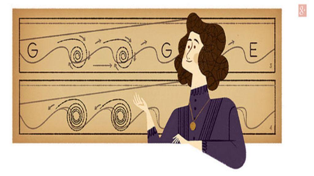 El doodle de Hertha Marks Ayrton