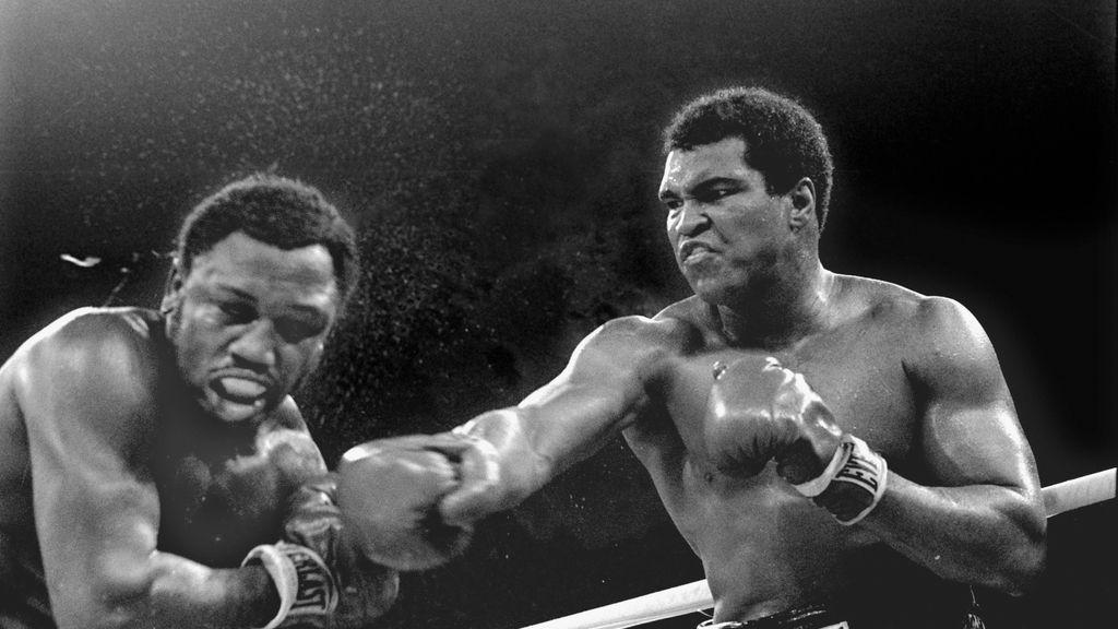 Muhammad Ali peleando