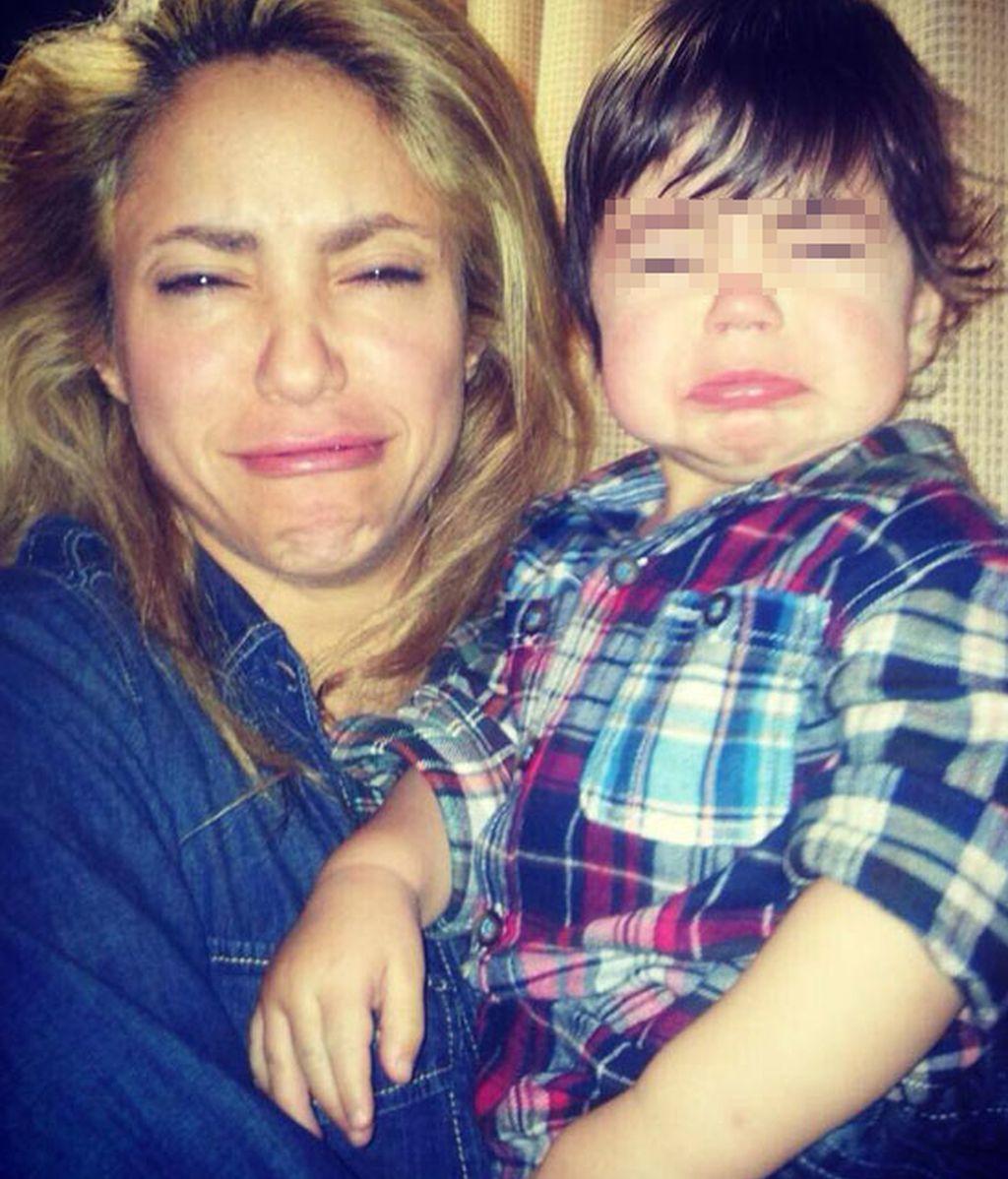 Shakira con Milan