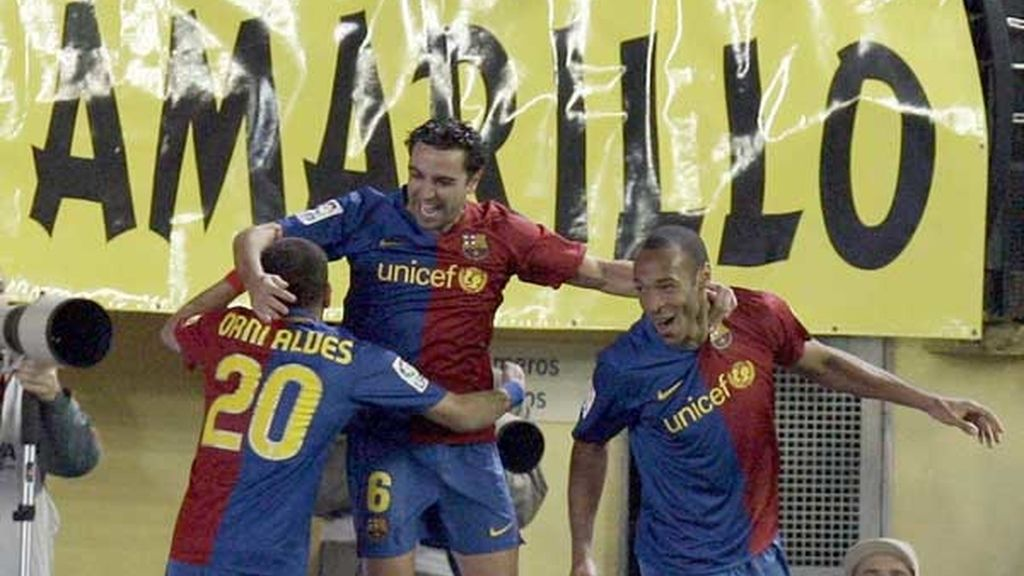 1-2. El Villarreal sucumbió ante el mejor Barcelona que se recuerda