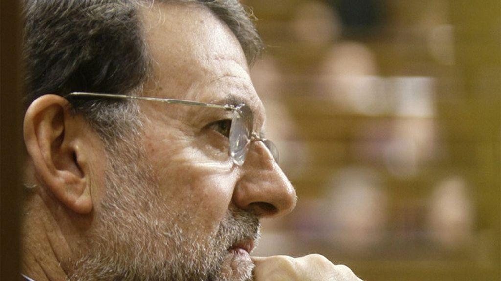 Rajoy pensativo